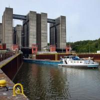alt boat lift in Scharnebeck
