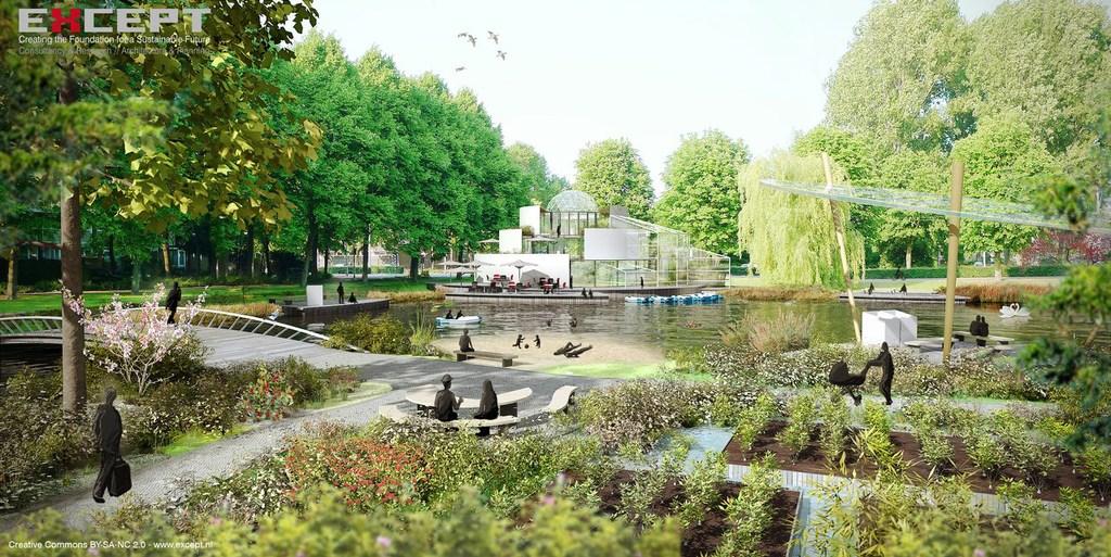 Vision illustration Water Park