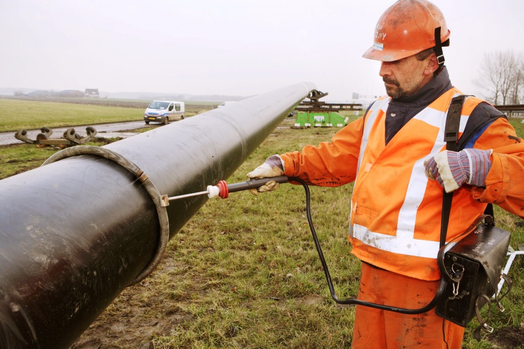 Pipe transporting CO2