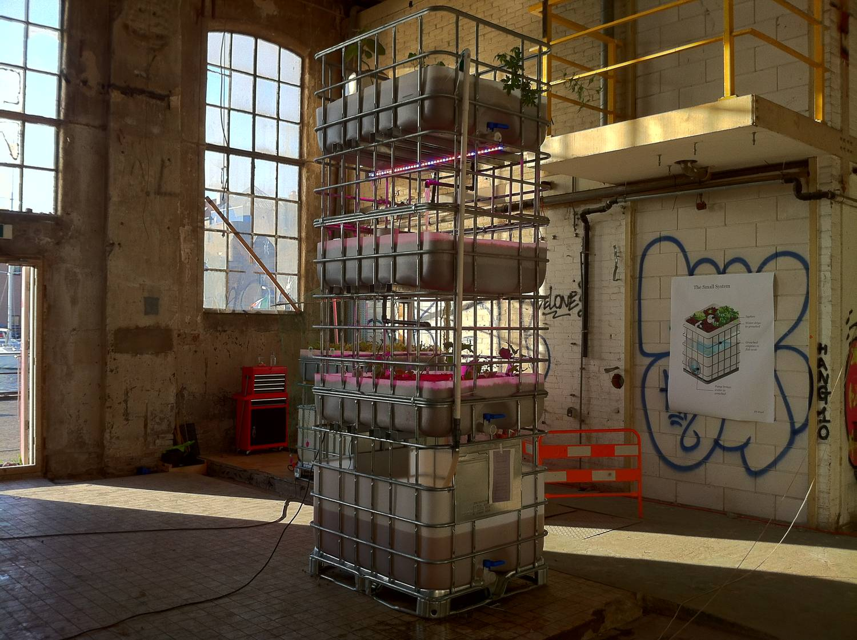 Mediamatic Aquaponics Project Cyclifier