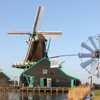 alt The three production windmills together