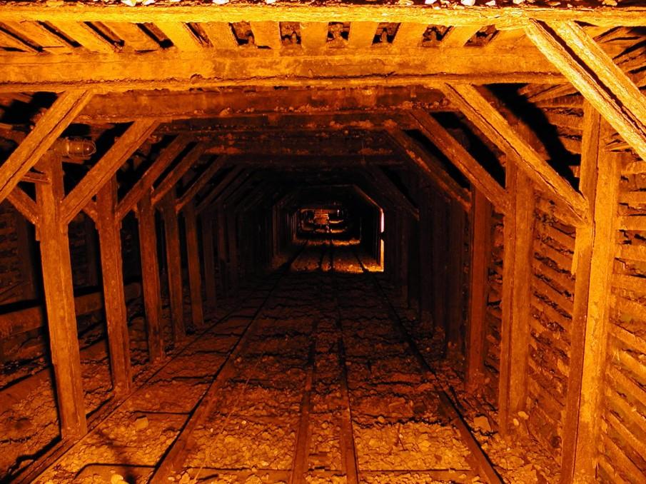 Old Coal Mine Tunnel X