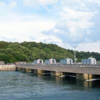 alt Electrical tidal plant